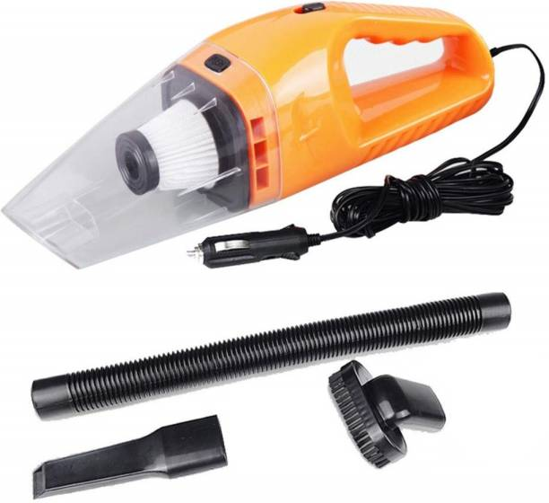EMBLEM STORE High Power Wet & Dry Portable Handheld Car Vacuum Cleaner strong suction and blower Car Vacuum Cleaner with Anti-Bacterial Cleaning