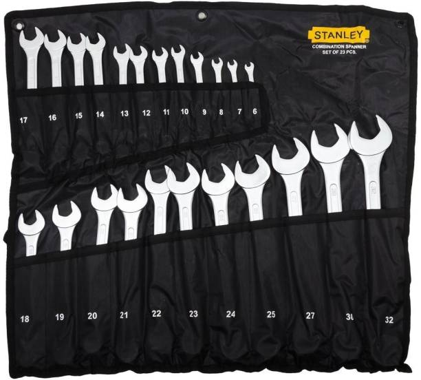STANLEY 70-965 Double Sided Combination Wrench Set