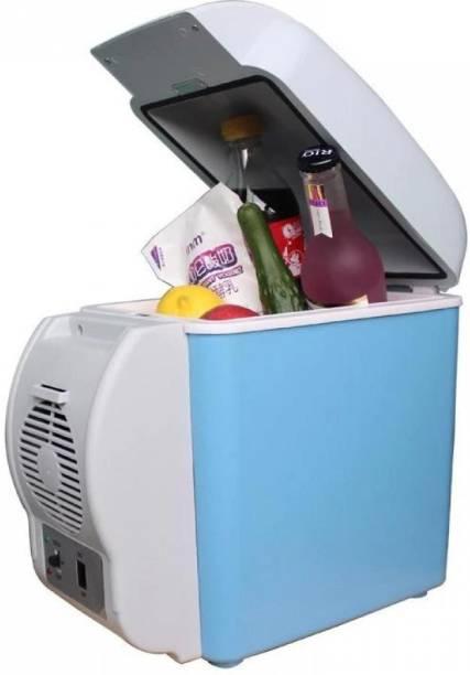 Shera mini car refrigerator Mini Car Refrigerator-001 Mini Car Refrigerator, 12V 7.5L Multi-Function Portable Refrigerator Cooler Warmer Heating Electric Fridge Box for Travel, Fishing 7.5 L Car Refrigerator 7 L Car Refrigerator