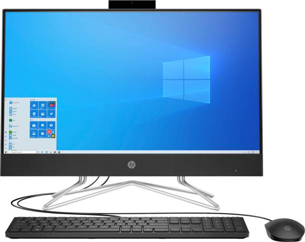 HP All in One Desktop PC Core i3 (10th Gen) (8 GB DDR4/1 TB/Windows 10 Home/23.8 Inch Screen/24-df0060in) with MS Office
