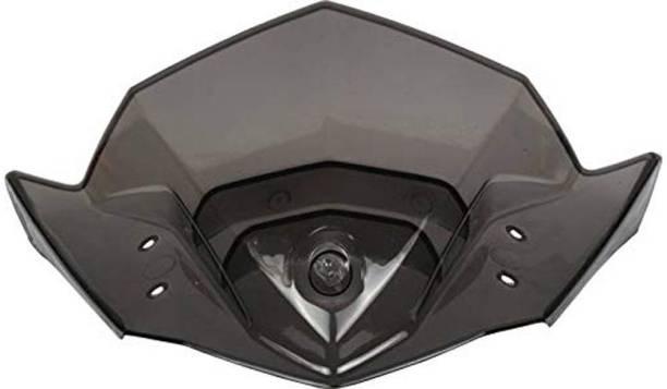 Sms traders FZ Small Visor BK01 Bike Headlight Visor