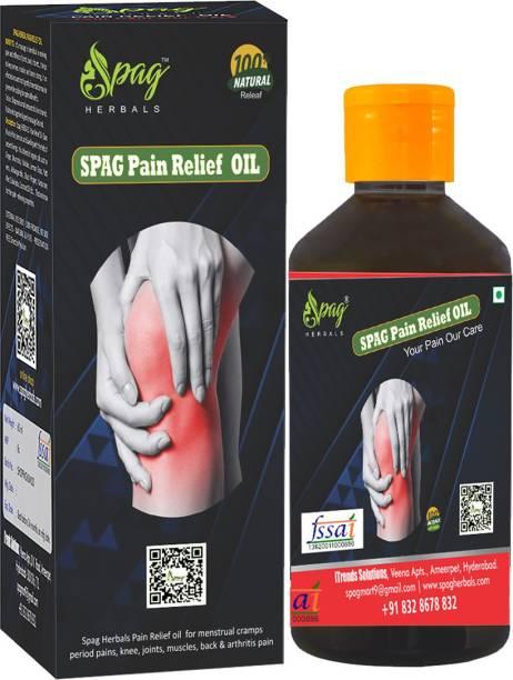 Spag Herbals Pain Relief Oil Liquid