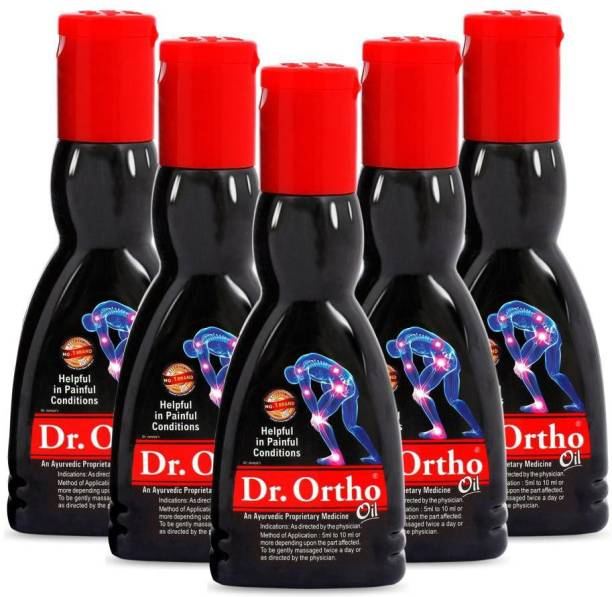 Dr Ortho Body Pain relief Oil, 60ml (Pack of 5) Liquid