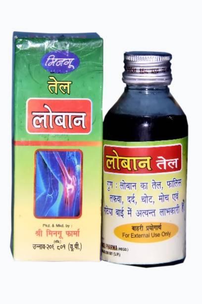 Mingu Pharma Loban Oil Each 100 Ml Pack Of 3 Liquid