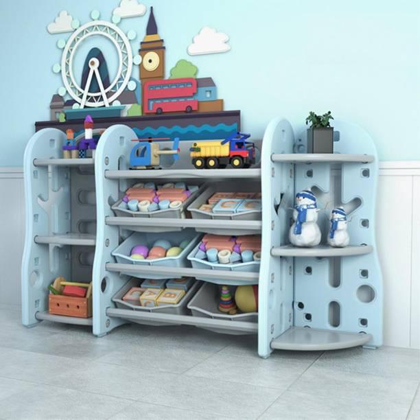 Urbancart Plastic Open Book Shelf