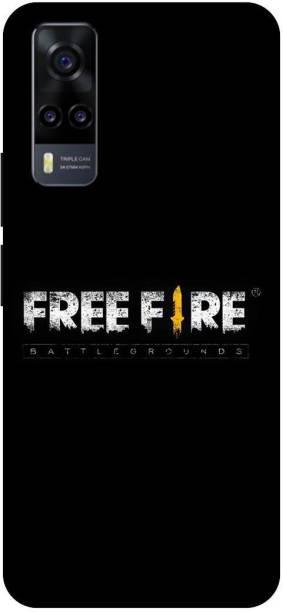 TPM Back Cover for Vivo Y31, V2036, Free Fire, Game, Back Cover