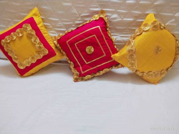 Jhalak Embroidery Floral Cushions Cover