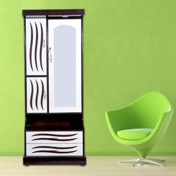 DEZINE INNOVATION Engineered Wood Dressing Table