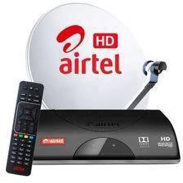 Airtel Digital TV HD Box WB My Family SD Pack 6 Month