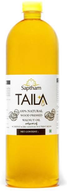 Saptham Taila 100% Wood Pressed / Cold Pressed Walnut Oil PET Bottle