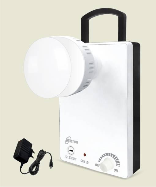 Micron 24 Watt Rechargeable Led Bulb Lantern Emergency Light