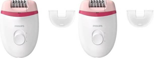 PHILIPS BRE235 pack of 2 Corded Epilator