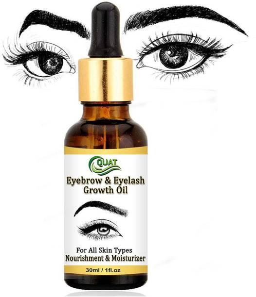 QUAT Eyebrow & Eyelash Growth Oil, For All Skin Types 30 ml