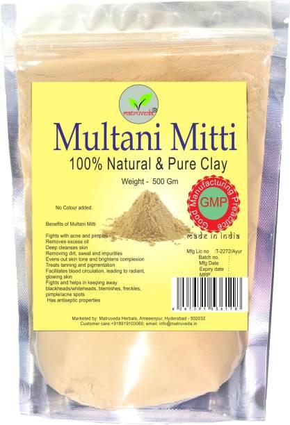 matruveda Natural Multani mitti - 500gm