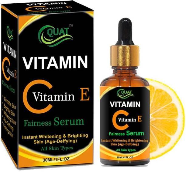 QUAT Vitamin C with e Fairness Serum Whitening & Brightning Skin 30ml