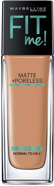 mayblline MAYBELLINE New York Fit Me Normal to Oily Matte Poreless Foundation - Toffee 330 30 ml Foundation
