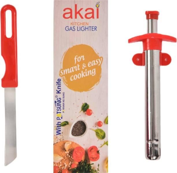 Akai Steel Gas Lighter