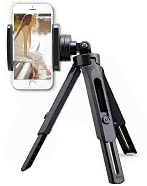 CASADOMANI Portable Mini Digital Angle & Height Adjustable Foldable Phone Holder Stand 3 Axis Gimbal