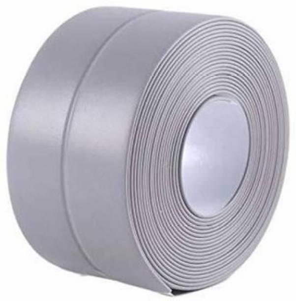 Volo Wall Sealing Strip,Waterproof Self-Adhesive Kitchen Caulk Tape Bathroom Basin Edge Decorative Trim, Waterproof Bathroom Chamber Pot Gap Corner Line Sticker 320 cm Single Sided Tape