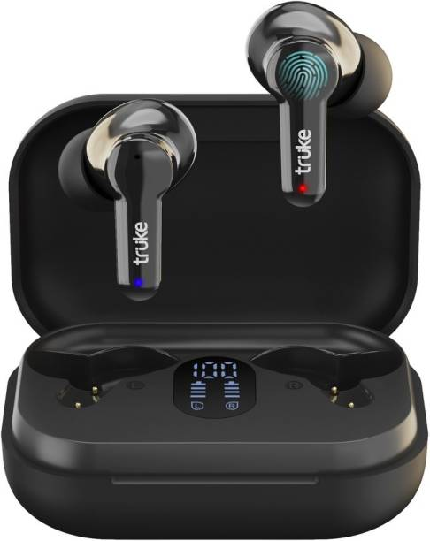Truke Buds Q1 with Environmental Noise Cancellation(ENC) Bluetooth Headset