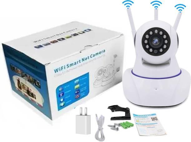 InfraHive Wifi Security Camera 1080Px Camera WIFI Wireless Smart Home Security Camera Surveillance 2-Way Audio, 360D Pan&Tilt, CCTV Pet Camera 3MP Baby Monitor with Triple Antenna Security Camera