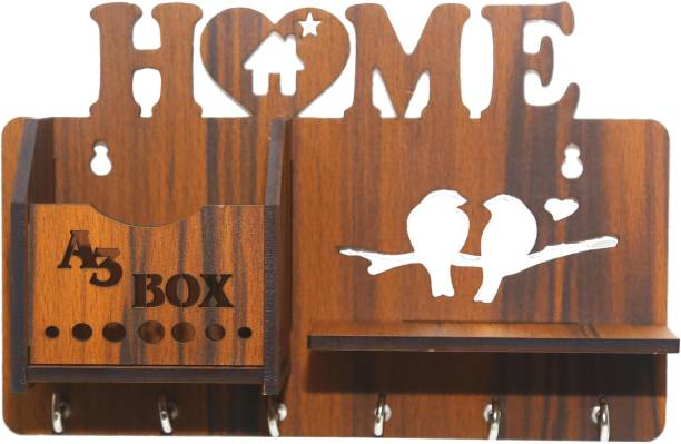 A3 BOX 5MM MDF Special Addition Home Design Wood Key Holder