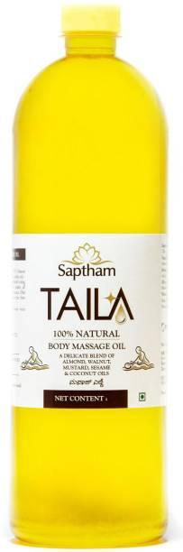 Saptham Taila 100% Natural Massage Oil - Made of 5 Oils