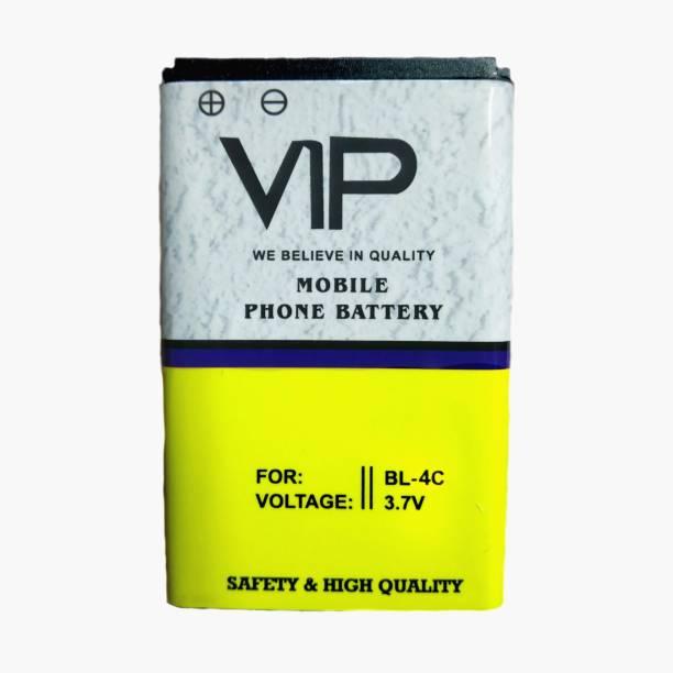 VIP Mobile Battery For  NOKIA Nokia 100, 101, 110, 114, 1100, 1101, 1110, 1112, 1200, 1208, 1209, 1600, 1616, 1650, 1680 classic, 1800, Asha 202, Asha 203, Asha 205, 207, 208, 2300, 2310, 2323 classic, 2330 classic, 2600, 2610, 2626, 2700 classic, 2710 Navigation Edition, 2730 classic, 3100, 3109 classic, 3110 Classic, 3120, 3610 fold, 3650, 3660, 5030 XpressRadio, 5130 XpressMusic, 6030, 6085, 6230, 6230i, 6267, 6270, 6555, 6600, 6630, 6670, 6680, 6681, 6820, 6822, 7600, 7610, C1-00, C1-01, C1-02, C2-00, C2-01, C2-02, C2-03, C2-06, E50, E60, N70, N71, N72, N91, Ngage, Ngage QD, X2-01, X2-05