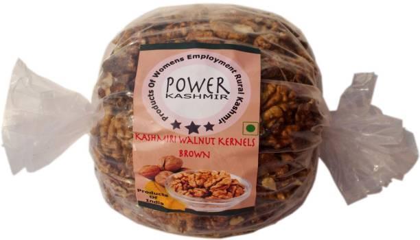 Power Kashmir Walnut Kernels Brown Half Kashmiri | Akhrot Giri Walnuts
