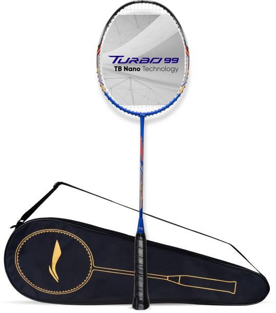 LI-NING Turbo 99 Blue, Black Strung Badminton Racquet