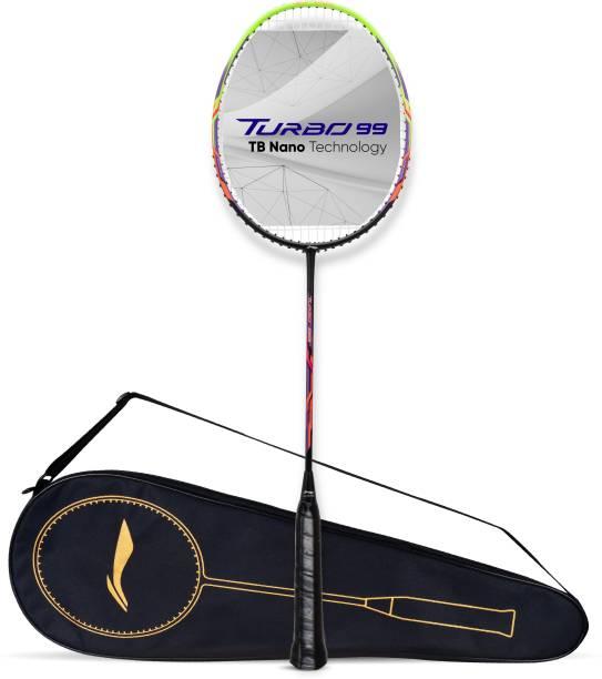 LI-NING Turbo 99 Black, Green Strung Badminton Racquet