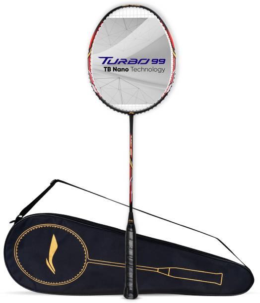 LI-NING Turbo 99 Black, Red Strung Badminton Racquet