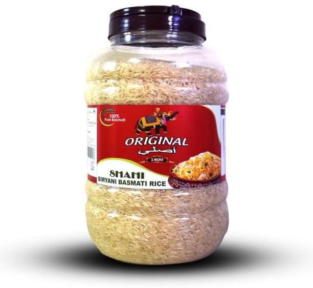 Original 1800 (Label) Royal Shahi Biryani Basmati Rice Basmati Rice (Long Grain, Raw)
