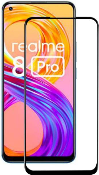 Gorilla Original Edge To Edge Tempered Glass for Realme 8 Pro, Realme 8
