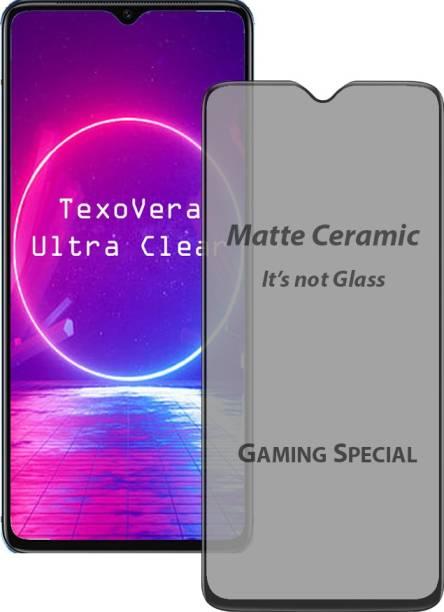 ShopeeQ Tempered Glass Guard for Moto G50 Matte Ceramic Glass