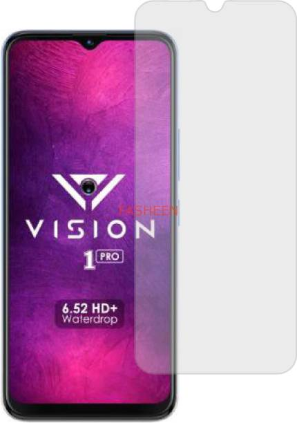 Fasheen Tempered Glass Guard for ITEL VISION ONE PRO (ShatterProof, Matte Finish)