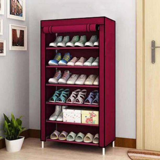 Flipkart Perfect Homes Studio COLLAPSIBLE SHOE STAND Metal Collapsible Shoe Stand Metal Collapsible Shoe Stand