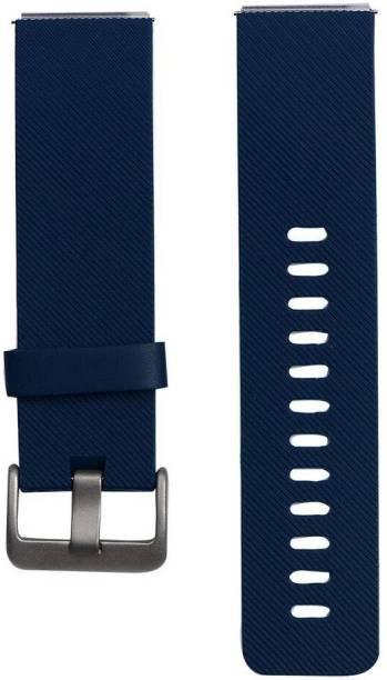 M@SKED Fitbit-Blaze-Black Smart Watch Strap