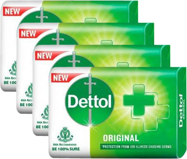 DETTOL Original Protection from 100 illness causing Germs Soap