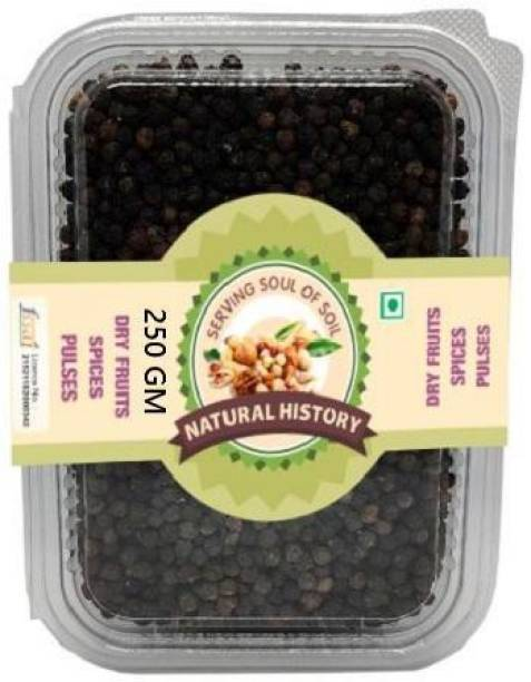 natural history Brand - Black Pepper 250gm (Pack Of 1 )