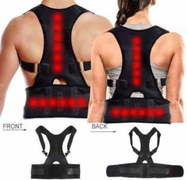 VSTAR CARE Real Doctor Posture Corrector, Shoulder Back Support Belt Back Support (Black) Back Support