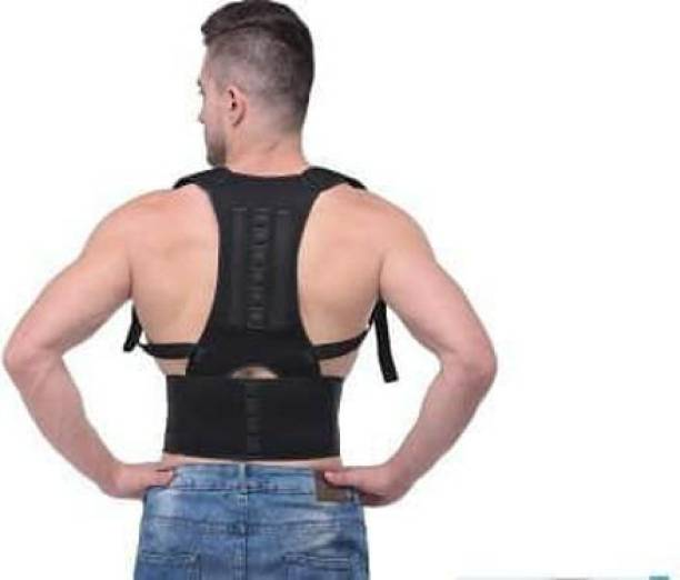 Fittpro Magnetic posture corrector for providing best back support universal size Back Support