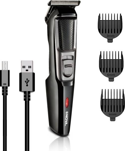 NOVA NHT 1074 USB  Runtime: 30 min Trimmer for Men