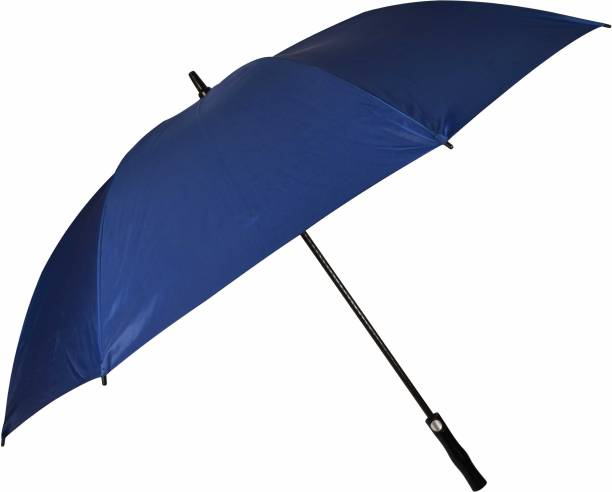 Fendo Automatic Open Men/Women UV Protection Monsoon/Rainy & Sun Umbrella in Navy Blue Umbrella