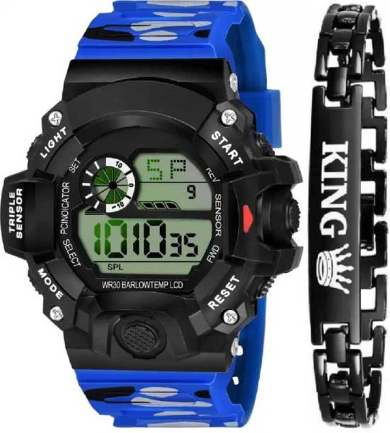 DKERAOD New Superb Today Trending Top Selling Product Digital Stylish Sport Collection Watch Bracelet Digital Watch  - For Boys & Girls