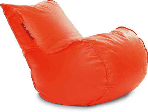 STYLE HOMEZ Mambo XL Leatherette XL Lounger Kid Bean Bag