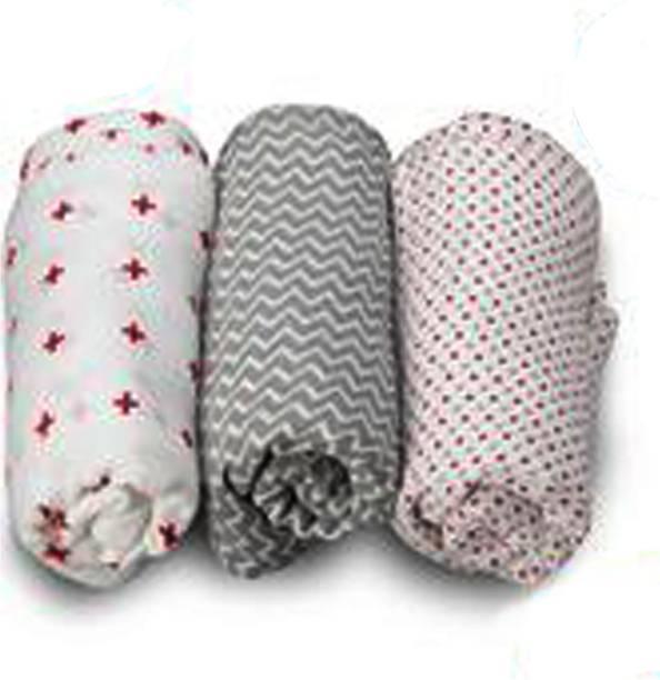 LuvLap Printed Single Swaddling Baby Blanket