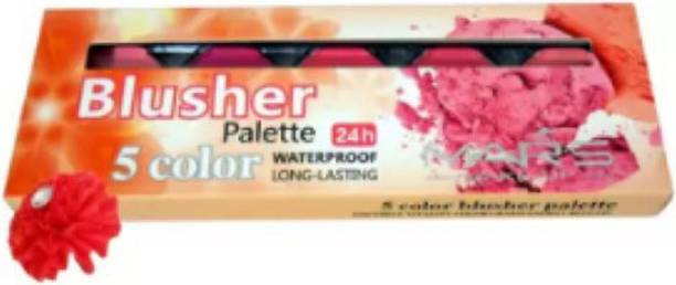 MirrorKitty Mars 5 Color Blusher Palette Good Choice-Mtst