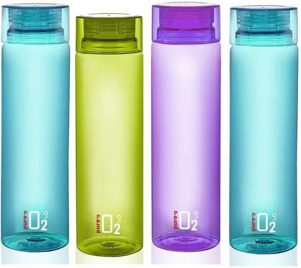 MURLI Pure H2O Unbreakable Refrigerator Water Bottle 1000 ml Bottle