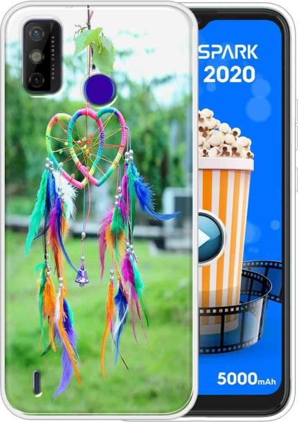 Vascase Back Cover for Tecno Spark Go 2020